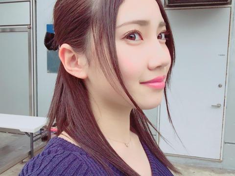 【悲報】SKE48北川綾巴ちゃんが髪の毛を染める