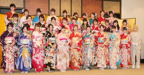 【朗報】茂木ちゃん、成人式集合写真最で前列!!!【AKB48・茂木忍】