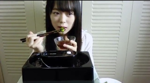 【AKB48】西川怜cの一人流しそうめん動画がシュール過ぎると話題に