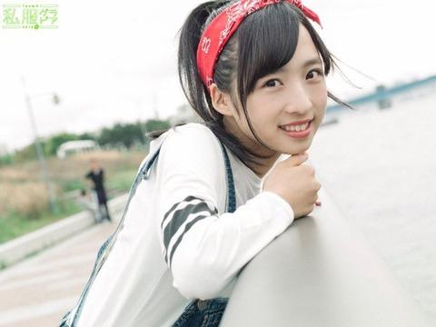 【朗報】ゅぃゅぃのゅぃゅぃが順調に成長してる模様(*´Д`)ハァハァ【AKB48・小栗有以】
