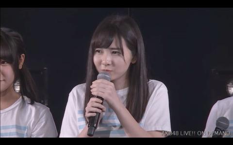 【STU48】尾﨑舞美がAKB劇場にて卒業発表!!!
