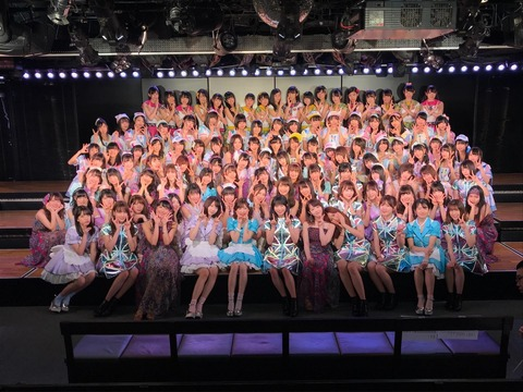 【AKB48】組閣後のチーム別の序列、どう思った?