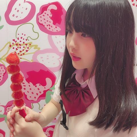 【AKB48】研究生佐藤美波ちゃん、おいしそうにアレを咥えてる画像が流出…