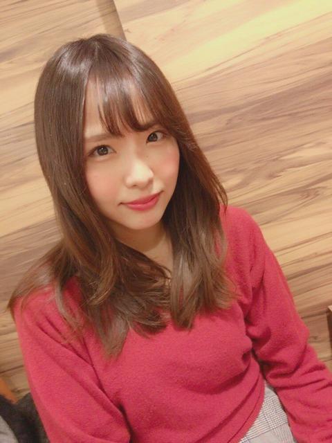 【画像あり】SKE48松村香織がめちゃ可愛くなってるwwwwww