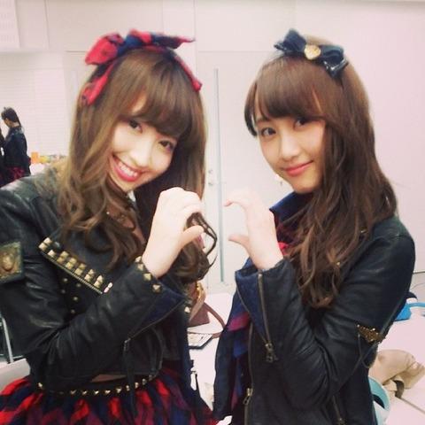 【AKB48】小嶋陽菜と松井玲奈の仲が知りたい【SKE48】