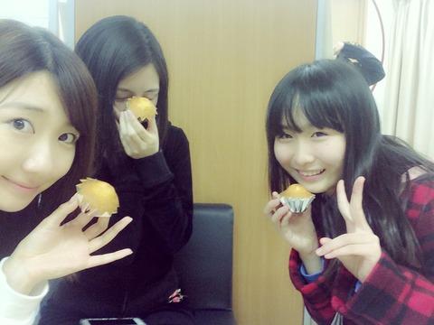 【AKB48】ひっそりとはこびるマドレーヌ会という謎団体!会長山邊歩夢、構成員渡辺麻友・柏木由紀・指原莉乃