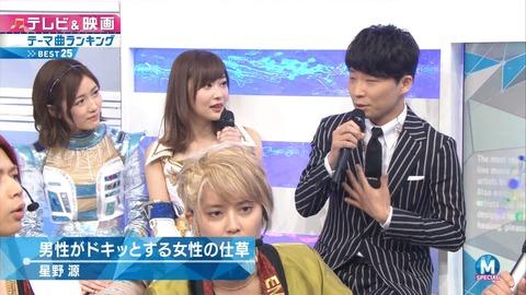 【Mステ】NEWSの出番の時にしれっとゆきりんが退避しててワロタwww【AKB48・柏木由紀】
