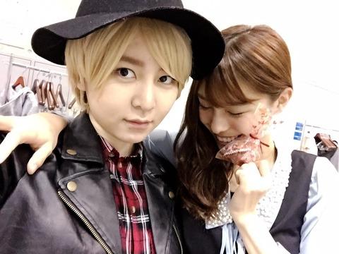 【AKB48】岩田華怜の男装をイケメンって言うのはちょっと無理があるよね