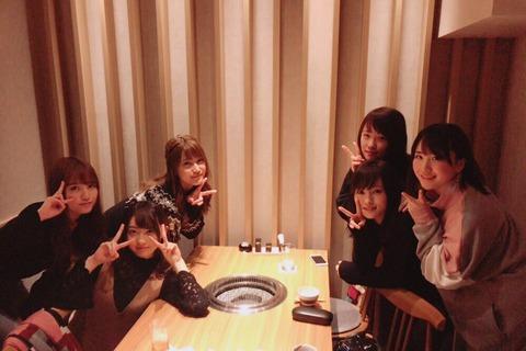 【AKB48】入山杏奈、木崎ゆりあ、加藤玲奈、高橋朱里、山本彩、川栄李奈がオープン前のお店に招待される