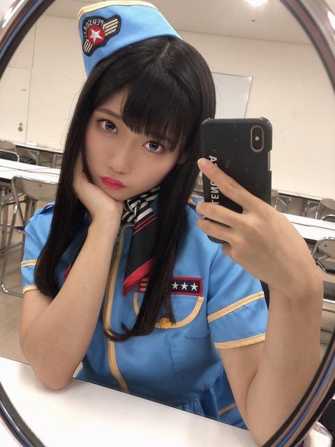 【NMB48】チーム8北海道代表の最終オーディションで落選した菖蒲まりんちゃん