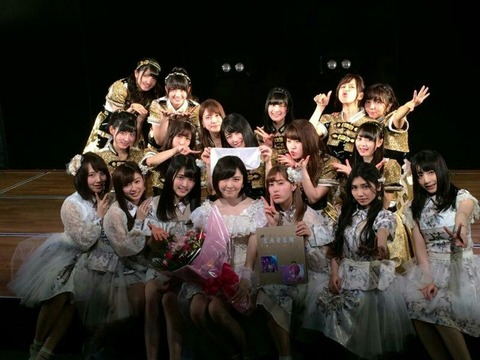 【AKB48】岩田華怜、卒業公演にてホリプロ所属を発表