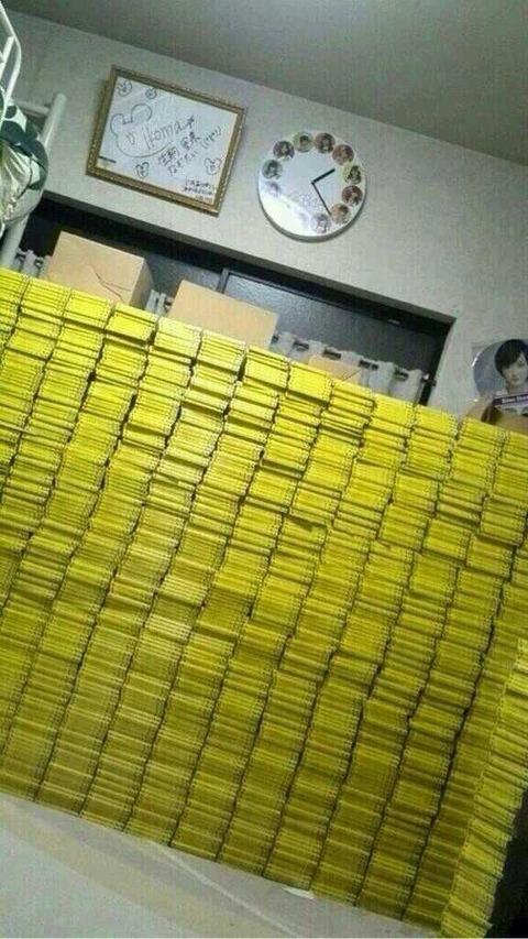 【AKB48G】CDに何百万も使う人って老後の心配とかないの?