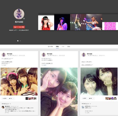 【AKB48G】ぐぐたすフォロワー数選抜作ったよ【Google+】