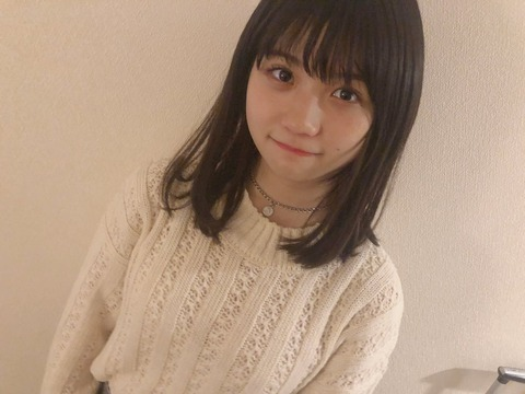 【悲報】SKE48小畑優奈ちゃん「エクステ取っちゃいましたー!」