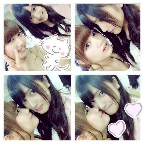 【AKB48】黒髪のあんにんと茶髪のれなっちのダブルセンターが見たい【入山杏奈・加藤玲奈】