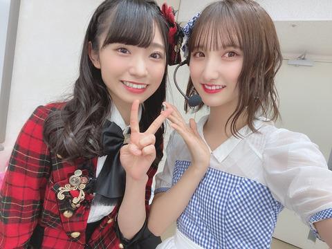 【AKB48】山内瑞葵は「ゆうなぁ」「もぎおん」の様にセットで売り出すべきだと思う