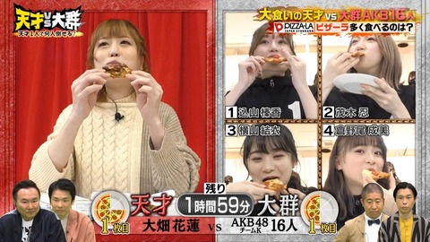 【AKB48】TBSにチームKがキタ━━━━(゚∀゚)━━━━!!【天才vs大群 ~1人で何人倒せる?~】