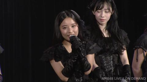 【NMB48】山尾梨奈が劇場公演で卒業発表!【やまりな】