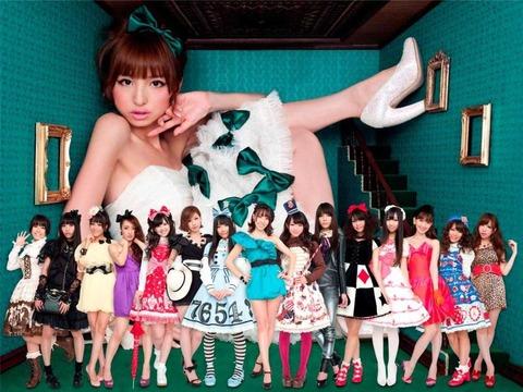 【AKB48】篠田麻里子みたいな綺麗なお姉さん枠のメンバーが欲しい