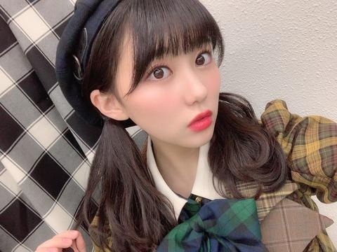 【HKT48】田中美久「AKB48紅白出場!!!本当に嬉しいです!!! 」