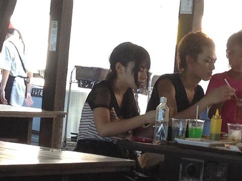 【悲報】山田菜々がホーンテッドキャンパス主演俳優と食事しているところを撮られてTwitterで晒される