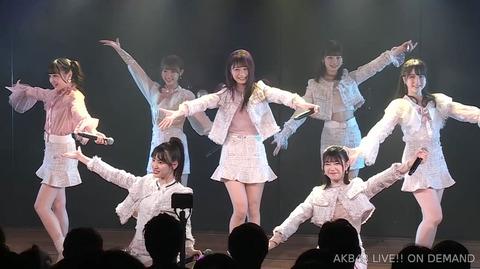 【AKB48】チーム8新静岡・鈴木優香ちゃん、劇場公演で圧倒的な存在感とエ口美脚を披露!