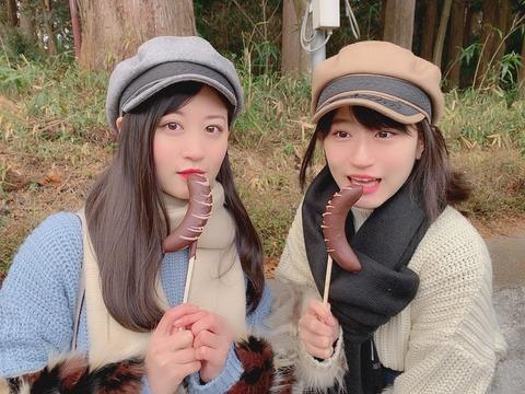 【朗報】上西姉妹の疑似フ●ラ画像キタ━━(゚∀゚)━━━!!【上西恵・上西怜】