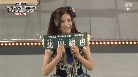 【SKE48】なぜか北川綾巴ちゃんがあまり売れてない件