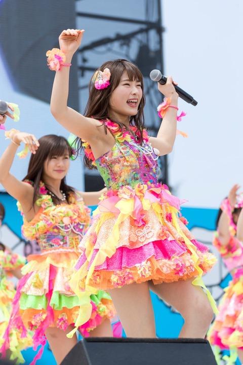 【AKB48G】メンバーのワキ毛画像ください