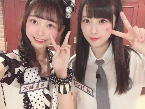 【AKB48・STU48】大盛真歩vs中村舞【D3】