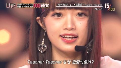 【NGT48】中井りかがテレ東音楽祭にしれっと参加してるんだが?