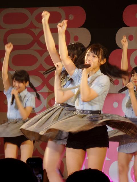 【AKB48G】メンバーの見せパンなら見えても平気という風潮