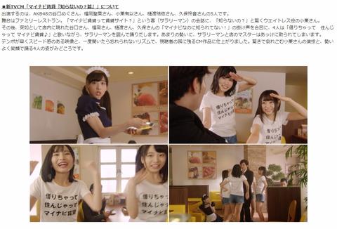 【AKB48】久々のCM仕事がきたああああああ!!!【マイナビ】