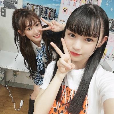 【NMB48】7期・佐月愛果(18歳)「実は原かれんちゃん(6期3月で20歳)とは小学生のときからのお友達です」