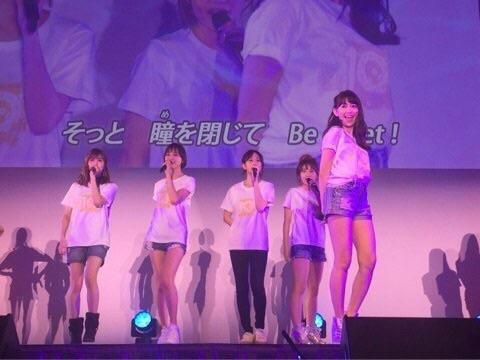 【悲報】小嶋陽菜さん、AKB48劇場オープン10年祭でやらかすwww