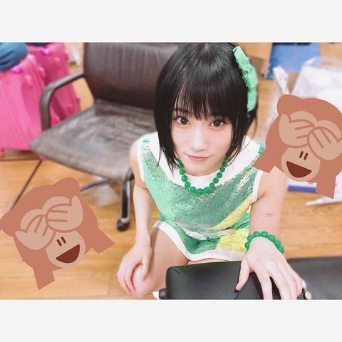 【NMB48】この前髪ぱっつん美少女は誰でまんがな!?と話題に【城恵理子】