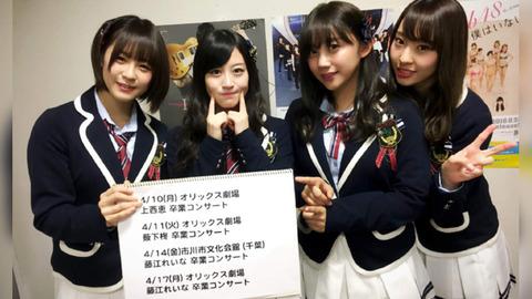 【朗報】元NMB48上西恵と薮下柊の2年縛り終了まであと1ヶ月