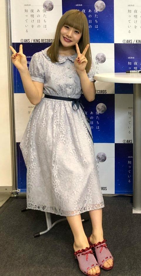 【NGT48】写メ会の加藤美南ちゃんがフランス人形の様に美しかった件