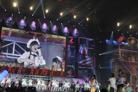 AKB48ドームコンサート「サプライズ」無し