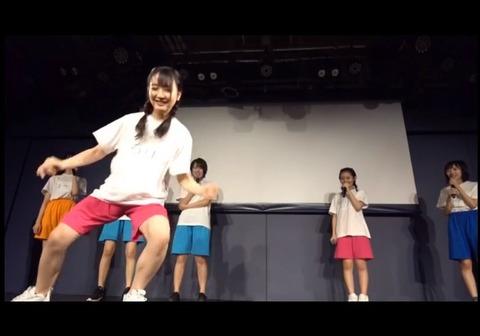 【STU48】石田千穂と今村美月のアスリートのようなムキムキの足