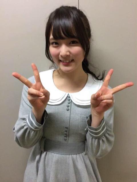 【朗報】ぽんちゃんのおっぱいがぱんっぱん!!!【AKB48・大森美優】
