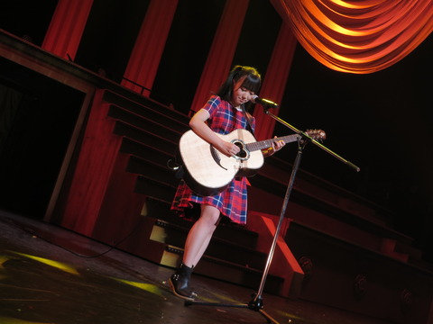 【HKT48】矢吹奈子「ギターは今回はどっちも失敗してしまいました・・・ごめんなさい。」
