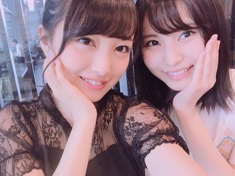 【AKB48】向井地美音が、相方に込山榛香ではなく福岡聖菜を選ぶようになった件