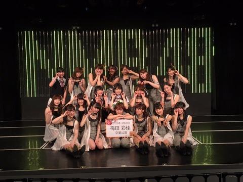 【NMB48】スクランブルエッグ編集長「梅田彩佳の卒業公演あっさり終わりすぎ」