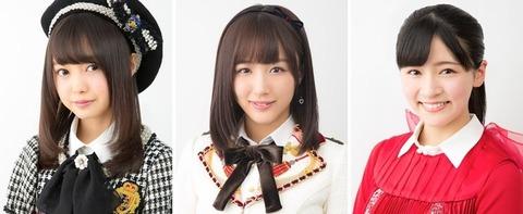 【AKB48G】映画しまじろう新作に樋渡結依、鎌田菜月、村雲颯香がゲスト出演