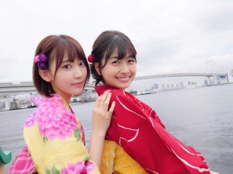 【HKT48】宮脇咲良さん、松岡はなちゃんに圧倒的な格の違いを見せつける