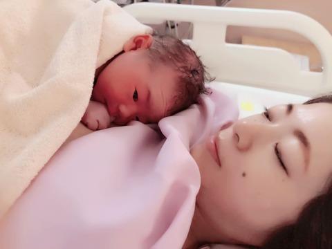 """【吉報】元AKB48、あの1期生が出産""""令和ベビー""""誕生!!!"""