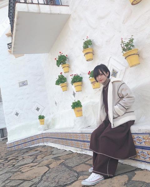山本彩さん、家族旅行で地中海へ行く