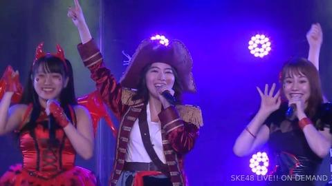 【SKE48】松井珠理奈「私はハロウィンナイトのオリメンだからメンバーに教えないといけないと思い公演に出た」
