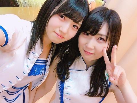 【AKB48】中田ちさと「村山彩希がいなかったら私はマイナスな気持ちで辞めてたと思う」